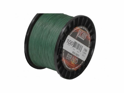 Vicious BBG Moss Green Braided Fishing Line 1500 Yard Spools
