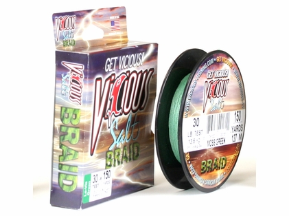 Vicious SBPG 150 Yds. Braided Fishing Line 30lb Test