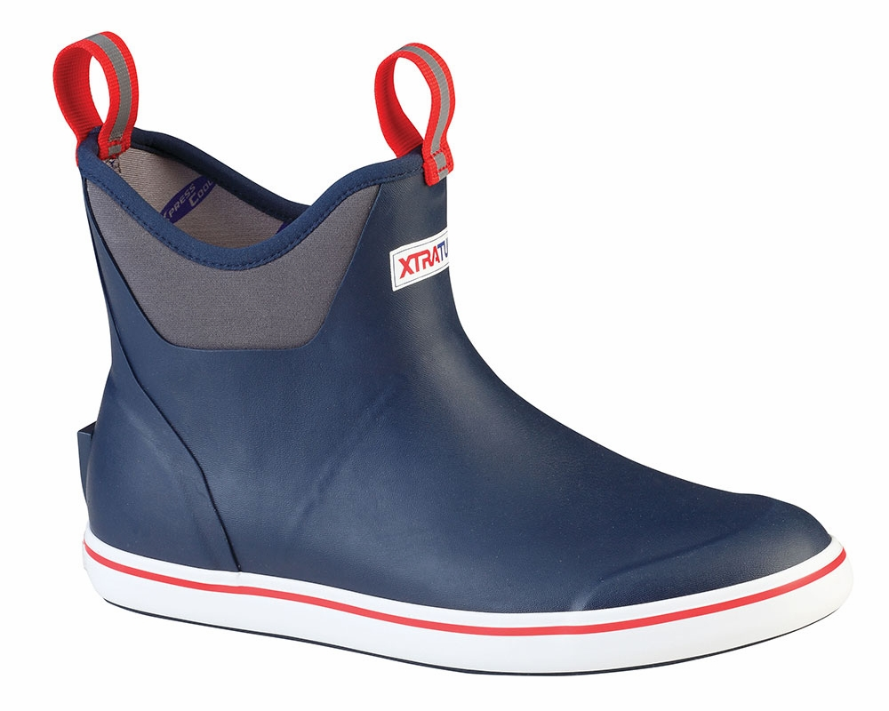 Xtratuf 22733 Ankle Deck Boot Navy Tackledirect