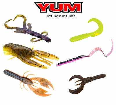 yum soft plastic lures | tackledirect, Soft Baits