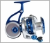 ZeeBaas ZX2 Blue/Silver Series Spinning Reels - Manual Pickup