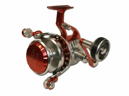 ZeeBaas ZX2 Red/Silver Series Spinning Reels - Manual Pickup
