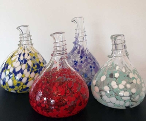 Hand Blown Glass Carafes / Decanters