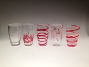 Hand-blown Glass Tumblers