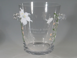 Handpainted Floral Wedding Gifts