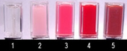Lighted Lipgloss Colors