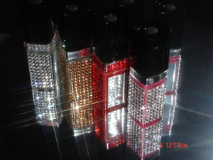 New- Go Light On My Lips Bejeweled Lip Gloss