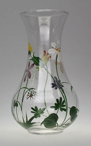 Wildflowers ~ Hand-painted Bud Vase 6""