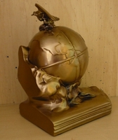 Airplane Bookends - Antique Brass Finish/Set of Two