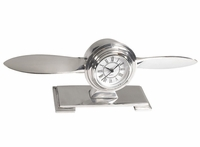 Deco Design Propeller Desk Clock
