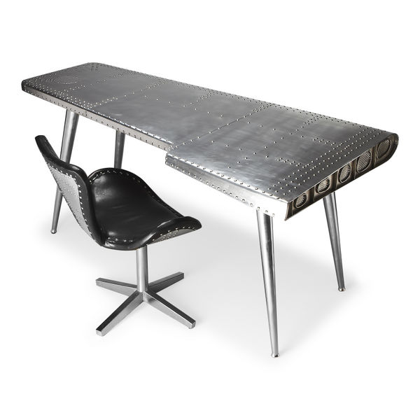 Airplane Wing Desk - Airplane Wing Coffee Table Airplane Decor Airplane Room