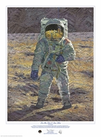 Buzz Aldrin Limited Edition Print