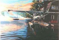 Cessna 180 Limited Edition Print
