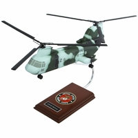 CH-46 Sea Knight USMC Model Helicopter