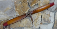 Decorative Propeller - French Antique Brown - Medium Size