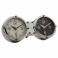 Retro Dual Time Table or Wall Clock