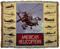 Helicopter Throw/Blanket  - Special Order