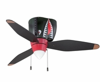 P-40 Tigershark Ceiling Fan