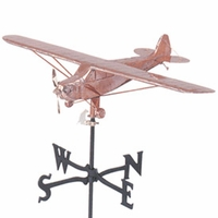 Piper Cub Airplane Weather Vane - Made in USA