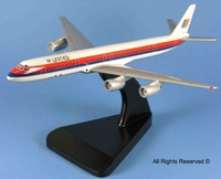 United Airlines DC-8 Model Airplane
