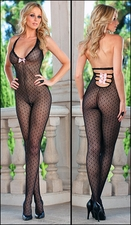 Bodystocking Dots & Bows