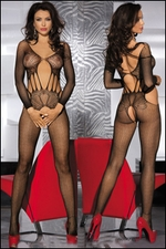 Crotchless Bodystocking Flash Net