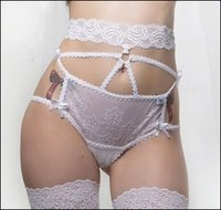 Bride's Panty High Waisted Elegance
