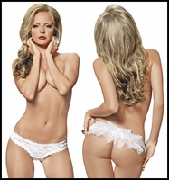 Bride Panty Veiled Rear