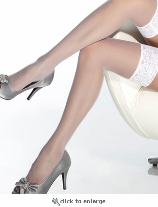 Coquette XL Lace Top Stockings