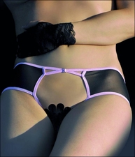 Crotchless Panties with Open Rear