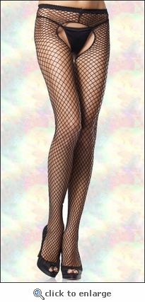 Crotchless Pantyhose Industrial Net