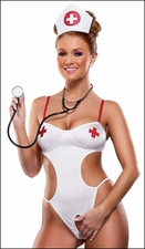 Crotchless Teddy Naughty Nurse