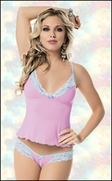 Cami & Split Crotch Panty Set Escante Lingerie #53060