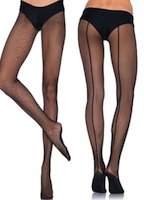 Fishnet Pantyhose with Durable Showgirl Sole