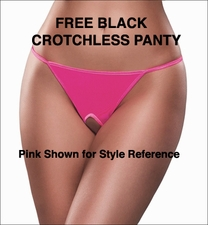 Free Crotchless Panty Offer