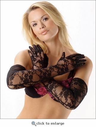 Gloves Lace Opera Length