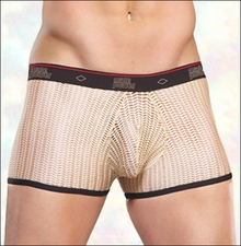 Men's Crochet Net Shorts