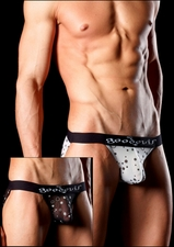 Men's Bikini Underwear Sheer Balls