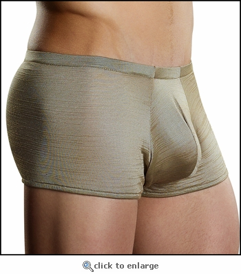 Men's Boxer Briefs with Pouch Front