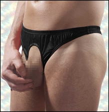 Men's Crotchless Thong Underwear