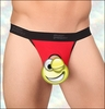 Men's Glory Hole  Crotchless Micro Thong