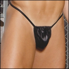 Men's Leather G-String
