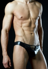 Men's Peek A Boo Thong BAM