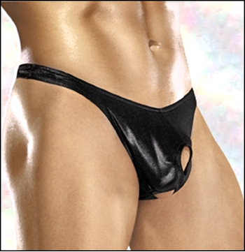 Men's Open Crotch Prolong Thong
