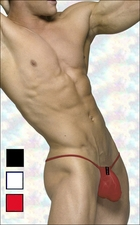 Mens Sheer G-String 3-Pack