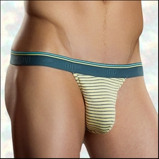Thong Heather Stripe