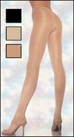 Sheer to Waist Opaque Lycra Tights