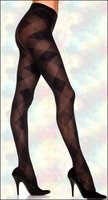 Patterned Pantyhose Opaque Argyle