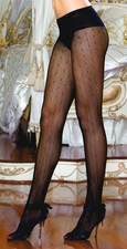 Patterned Pantyhose Dotted Net
