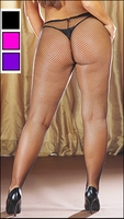 Plus Size Fishnet Pantyhose with Spandex